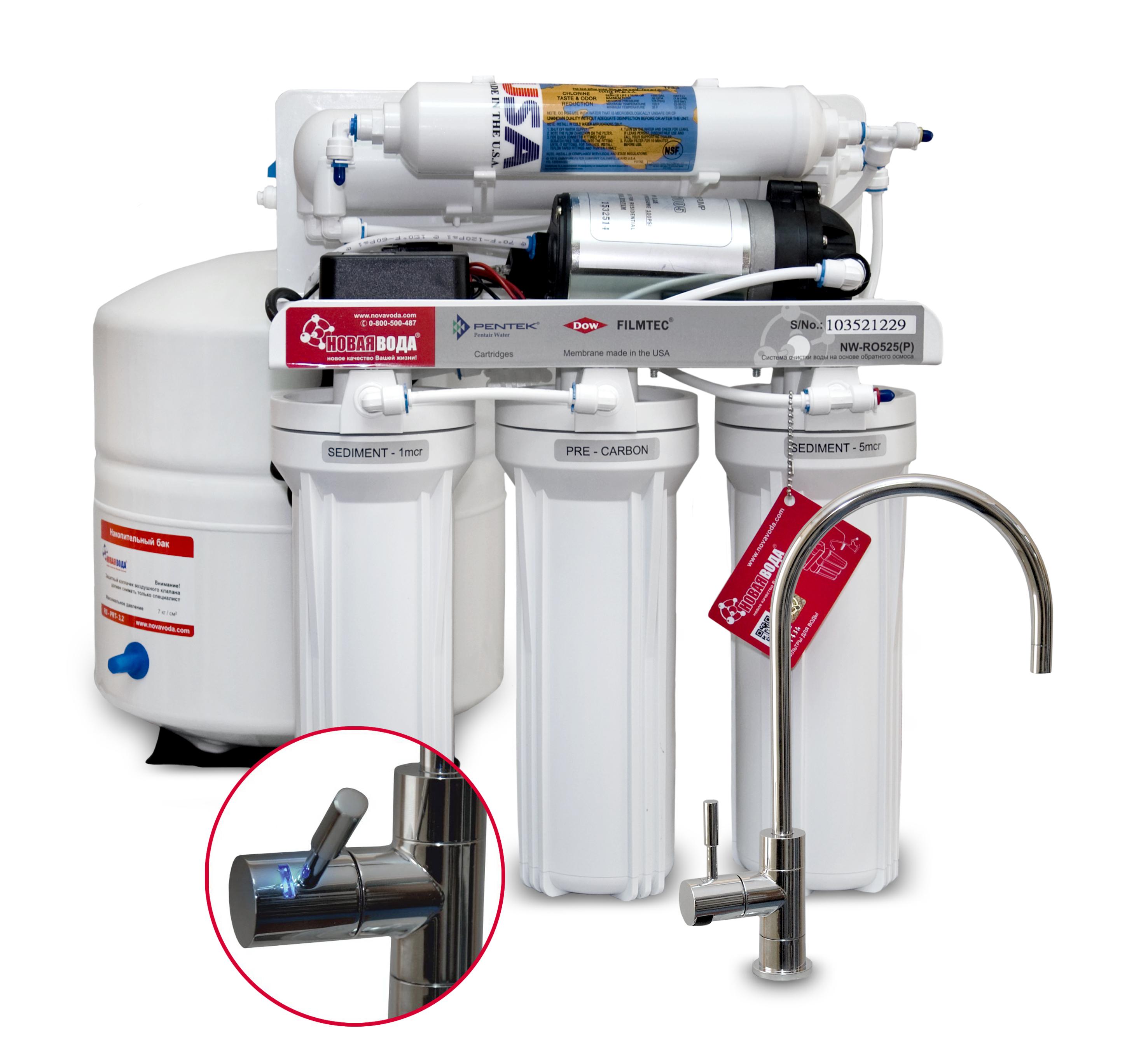 Фильтр новая вода инструкция